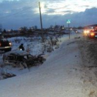 В Нижегородской области в результате ДТП погибли два человека