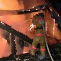 Гараж и баня сгорели из-за неисправных печей в Нижегородской области
