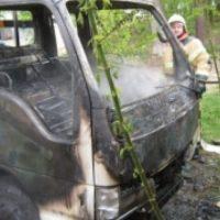 В Дзержинске потушили пожар в грузовом автомобиле