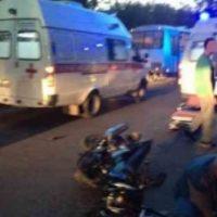 В Павлове 17-летние парень и девушка на мотоцикле попали в ДТП