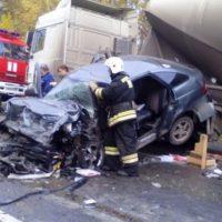 Под Нижним Новгородом в ДТП с цементовозом погиб человек