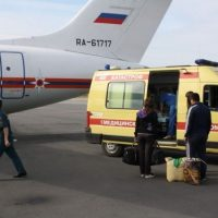Спецборт МЧС доставит в Нижний двух мужчин и ребенка из Грозного