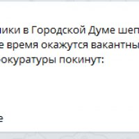Депутатопад, или Гордума в осаде