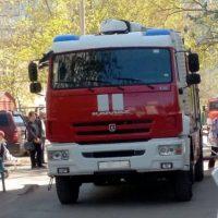 В городе Павлово пожарные спасли женщину от огня
