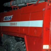В Нижегородской области сгорел автомобиль «ГАЗ-66»