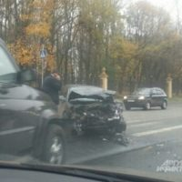 На проспекте Гагарина столкнулись «УАЗ» и Opel, есть пострадавшие