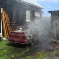 В Нижегородской области сгорели автомобили «ГАЗель» и Opel