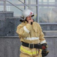 В Нижнем потушили пожар на предприятии в Ленинском районе