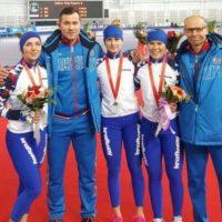 Нижегородка завоевала серебро на этапе Кубка мира по конькобежному спорту