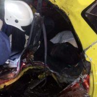 В Починковском районе водитель — пенсионер погиб в аварии «на встречке»