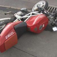 Пассажир мопеда погиб при столкновении с иномаркой на трассе