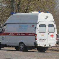 В Нижнем Новгороде SsangYong «догнал» маршрутку, есть пострадавший