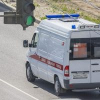 В Дзержинске Lexus врезался в автомобиль скорой помощи