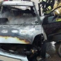 Автомобиль загорелся в центре Нижнего Новгорода