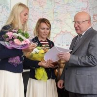 Валерий Шанцев поздравил фехтовальщиц, завоевавших бронзу на ОИ-2016