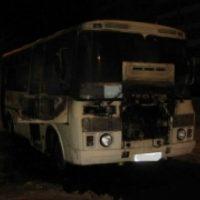 Маршрутка горела в Дзержинске утром 10 декабря