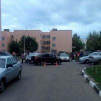 В Навашине «ВАЗ» сбил двух девочек на тротуаре
