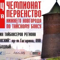 В Нижнем Новгороде пройдет чемпионат по тайскому боксу