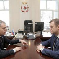 Панов поручил Воронцову обеспечить прозрачность работы всех МП