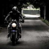 Мотоциклист пострадал, перевернувшись на улице Ларина в Нижнем