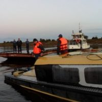 В Нижнем Новгороде на Волге перевернулся катер с пассажирами