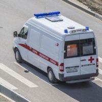 В Дзержинске автомобиль сбил коляску, пострадали трое детей