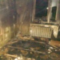 В Выксе молодой человек погиб при пожаре из-за курения