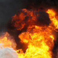 В Нижегородской области  на пожаре погибли женщина и ее сын