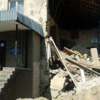 В Дзержинске частично обрушилась стена здания спасательного отряда