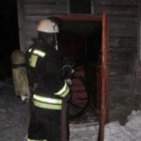 В Навашино на месте пожара в жилом доме обнаружено тело мужчины