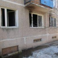 Восемь человек спасли из горящего дома на улице Львовской в Нижнем