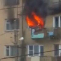 На пожаре в Нижнем Новгороде погиб человек