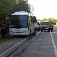 ГИБДД: водитель грузовика, врезавшегося в автобус, был лишен прав