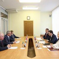 Никитин стал первым главой региона РФ, с которым встретился новый посол Австрии в России