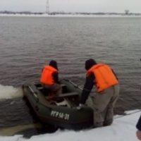В Нижегородской области спасли провалившегося под лед рыбака
