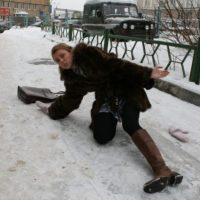 200 человек пострадали от гололеда в выходные в Нижегородской области