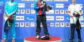 Нижегородский пловец Олег Костин стал чемпионом России