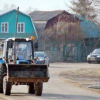 В Нижегородской области бомж угнал трактор