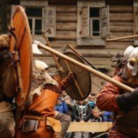 В августе, на территории Музея деревянного зодчества «Щелоковский хутор», состоится XX Фестиваль клубов исторической реконструкции эпохи средневековья «Приволжский Штандарт»