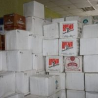 Полиция уничтожила 5,4 тыс. единиц контрафактной продукции