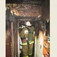 Нижегородка пострадала при пожаре из-за стиральной машины