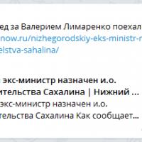 Daily Telegram: «квакающий» Нижний, балахнинские довыборы и нижегородцы на Сахалине
