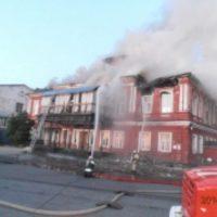 В центре Нижнего Новгорода сгорел ночной клуб