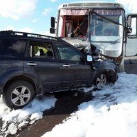 Семь человек пострадали в ДТП с автобусом в Нижегородской области