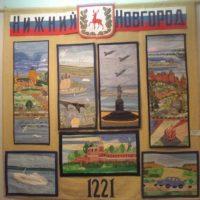 13 мая в выставочном зале г.Лукоянова откроется выставка декоративно-прикладного искусства «Народные мотивы»