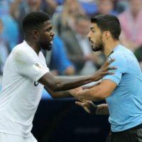 Французский поцелуй на прощанье. Как сборная Уругвая уступила Франции на ЧМ
