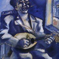 22 июня в НГХМ откроется выставка одной картины Марка Шагала «Портрет брата Давида с мандолиной»