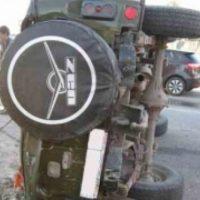 В Нижегородской области перевернулся «УАЗ», погиб водитель