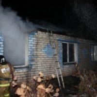 В Нижегородской области при пожаре погиб пьяный мужчина