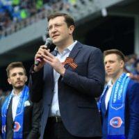 Глеб Никитин официально открыл построенный к ЧМ «Стадион Нижний Новгород»